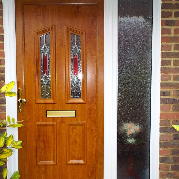 Inspiration gallery britelite windows doors and for Brown upvc door