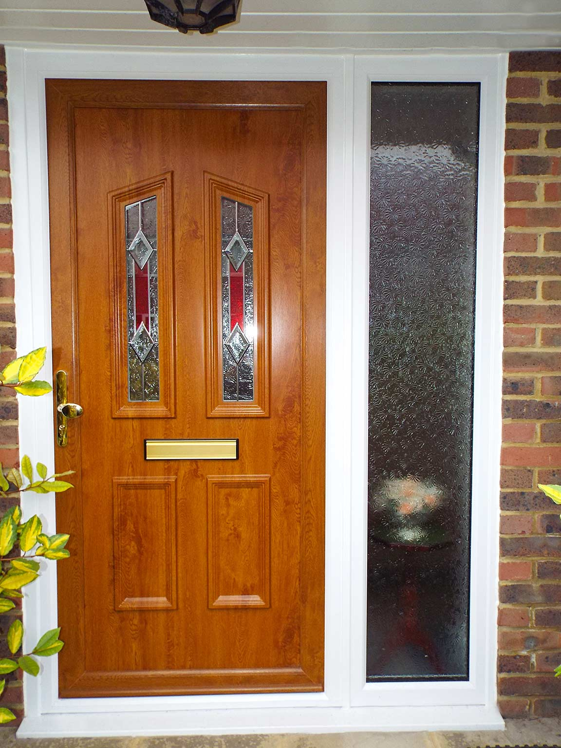 The difference between composite and upvc doors for Brown upvc door