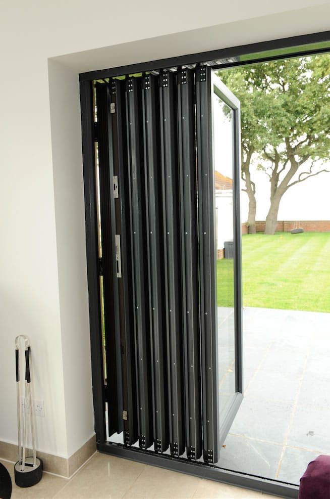 Black Accordion Doors : Inspiration gallery britelite windows doors and