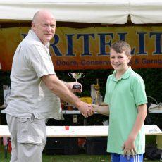 Britelite Tiddlywinks Championship Winner Sam Arnolt