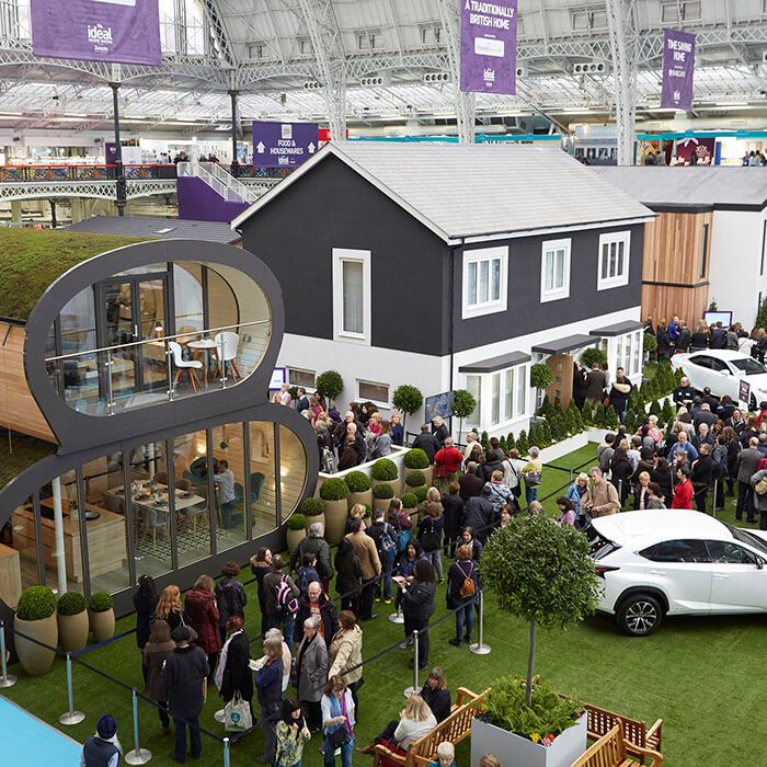 Visit Us At The Ideal Home Show 2019 Olympia London